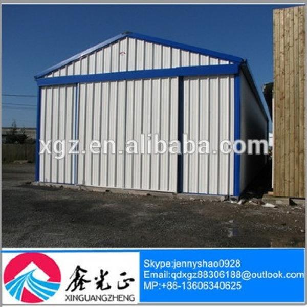 Portable light steel structure garage / carports made in China #1 image