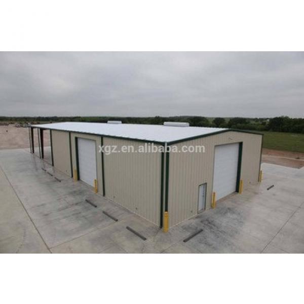 Prefabricated steel fabrication garage barn #1 image