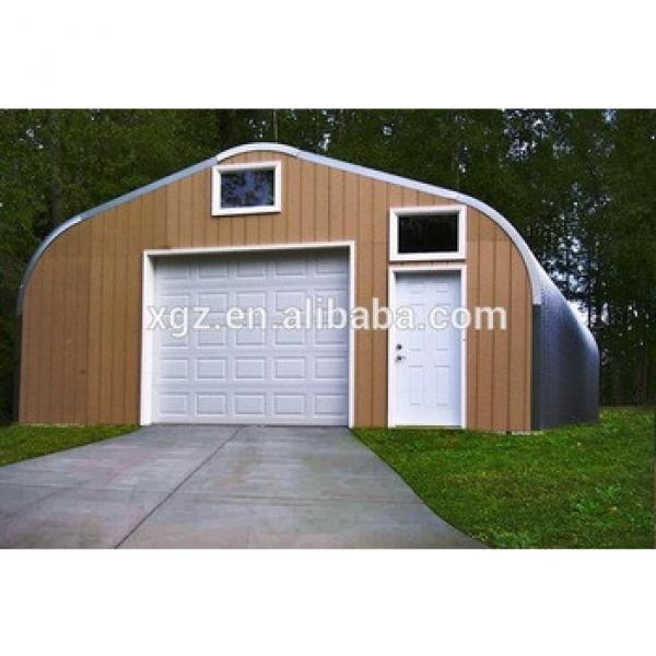 best price A model style steel carport with arched roof in canada #1 image