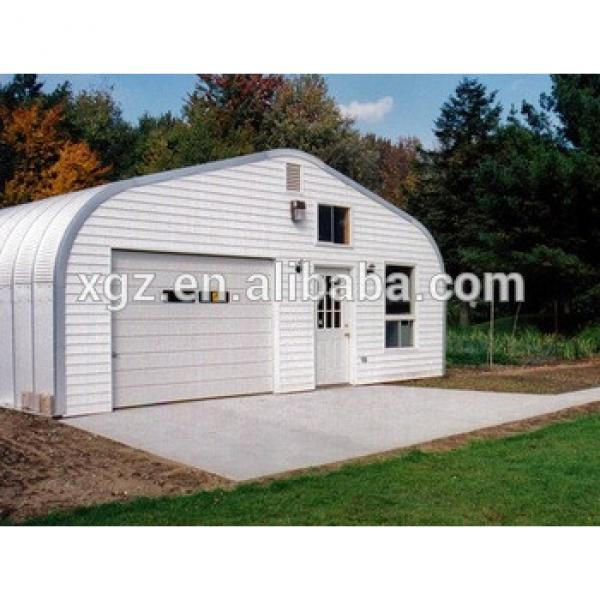 prefabricated A model web steel structure garage kits low price for sale #1 image