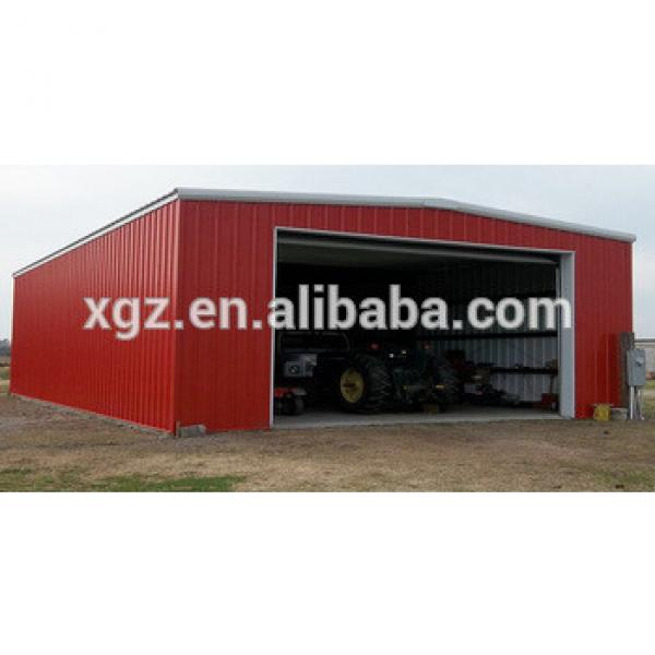 hot selling steel structure cheap prefab garage for sale #1 image