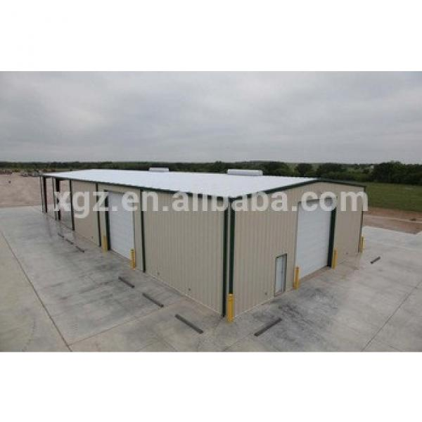 prefab steel frame modular warehouse building #1 image