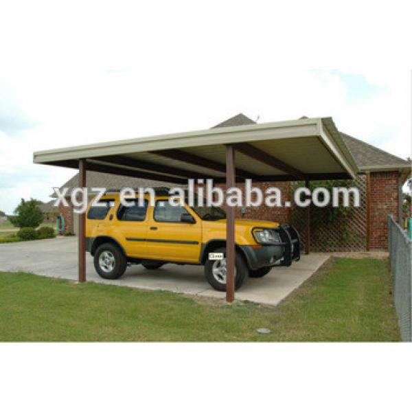 cheap high quality simple steel structure car garage tents #1 image