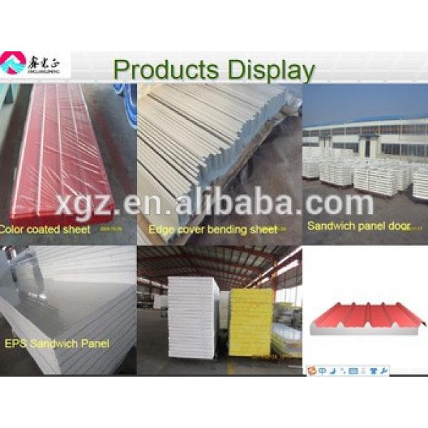 Hot selling color galvanized steel roof sheet with low price #1 image