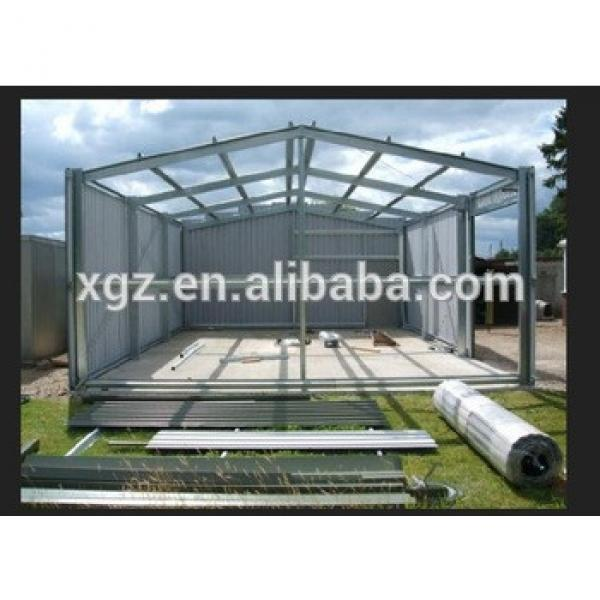 Small Span Steel Structure Garage #1 image