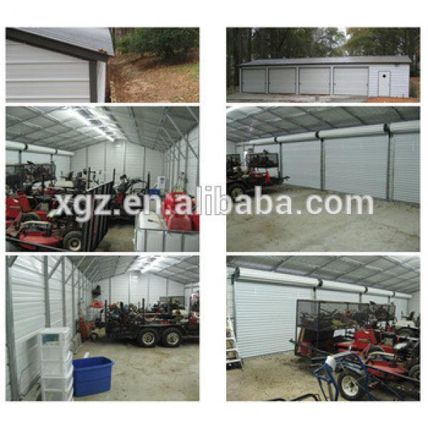 Easy installation Steel Structure Garage For Four Cars #1 image