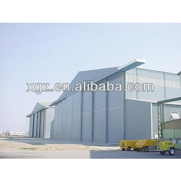 Steel Structure Prefabricated Aircraft Hangars #1 image