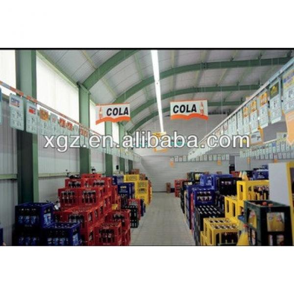 China Made Easy And Quick Assembly Prefabricated Light Steel Strcuture Storage Shed #1 image