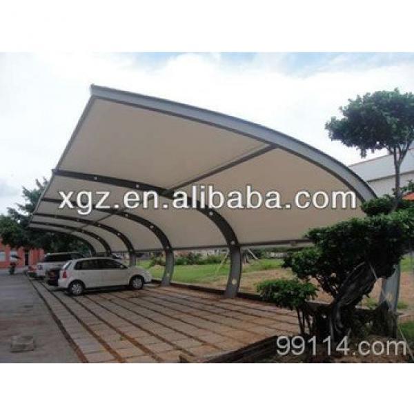 Public Steel Structure Car Parking Canopy #1 image