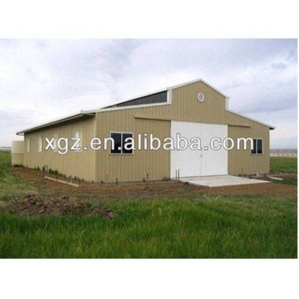 China modern design large span prefabricated steel horse stable with Good Quality #1 image