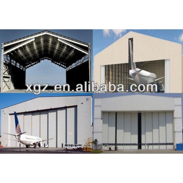 Fast Construction Strong Metal Aircraft Hangar #1 image