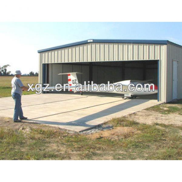 New Design High Quality Prefabricated steel aircraft hangar project #1 image