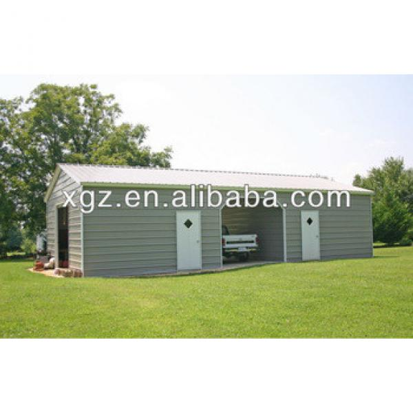 Low cost cheaper steel car shed design #1 image