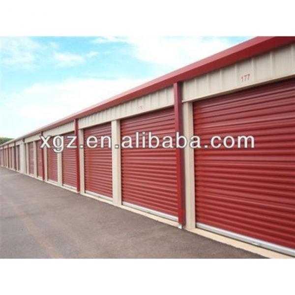 Professional Modern low cost steel garage building #1 image