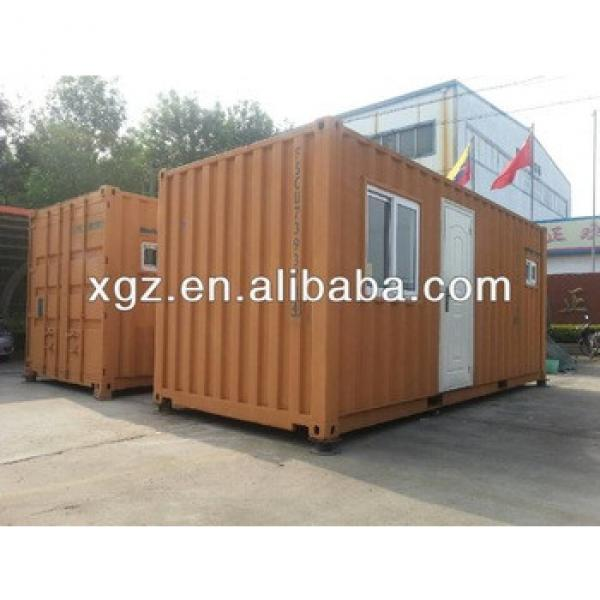 XGZ modular sandwich panel shipping container house #1 image