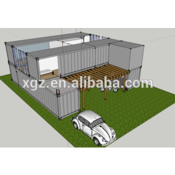 20 feet pre-made container house for hot sale #1 image
