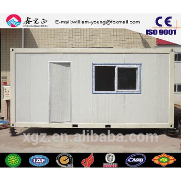 Low cost steel structure prefabricated flat pack container house,tiny house sale in Africa #1 image