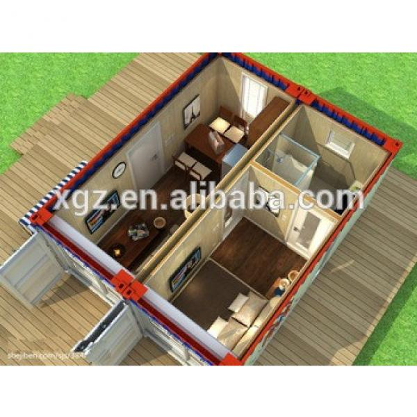 Hot sale flat pack container house for seaside villa #1 image
