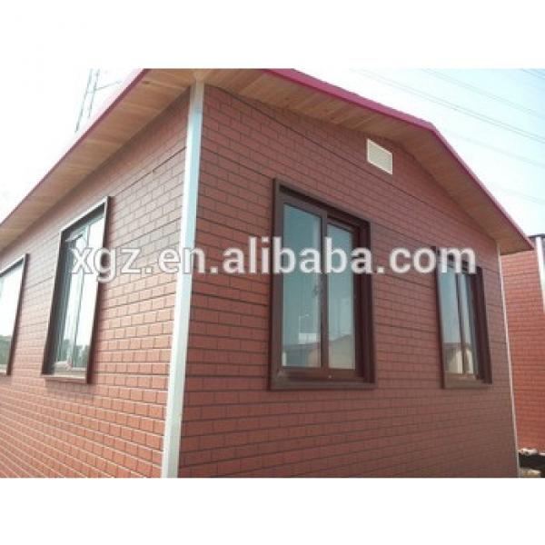 cheap prefab modular 40 foot container house with bathroom #1 image