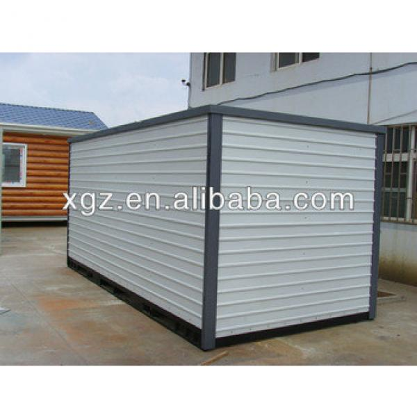 Foldable container house for storage exported Australia #1 image