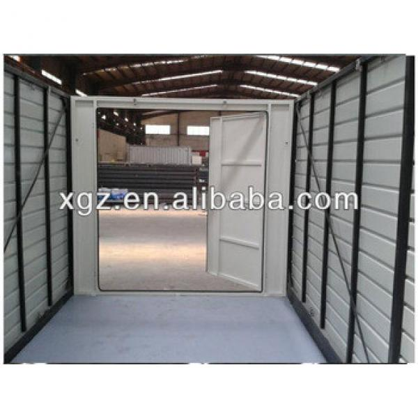 Color steel sheet folding container house for storage #1 image