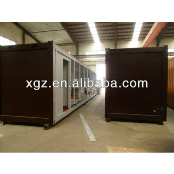 Steel structural pre-made 40 feet container house #1 image