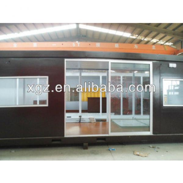 Steel structure prefabricated 40 feet container house #1 image
