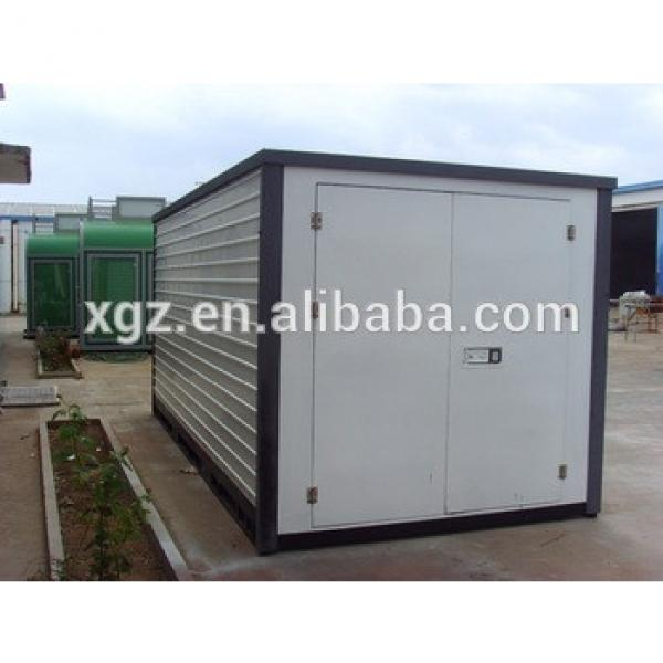 Folding storage container house exported Australia with ISO 9001:2008 #1 image