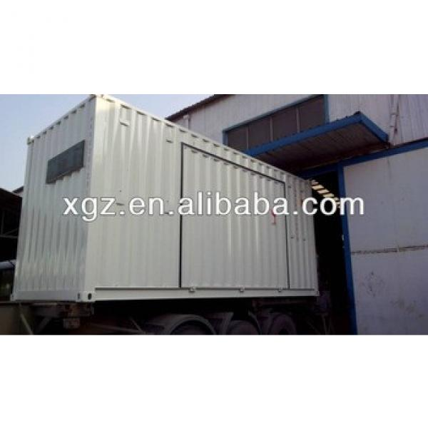 20 feet prefa modified container house #1 image
