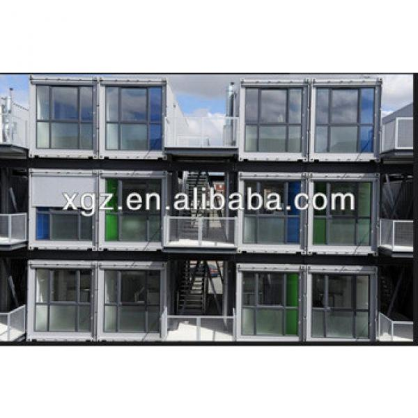 Attractive prefab container homes stacked for student dormitory #1 image