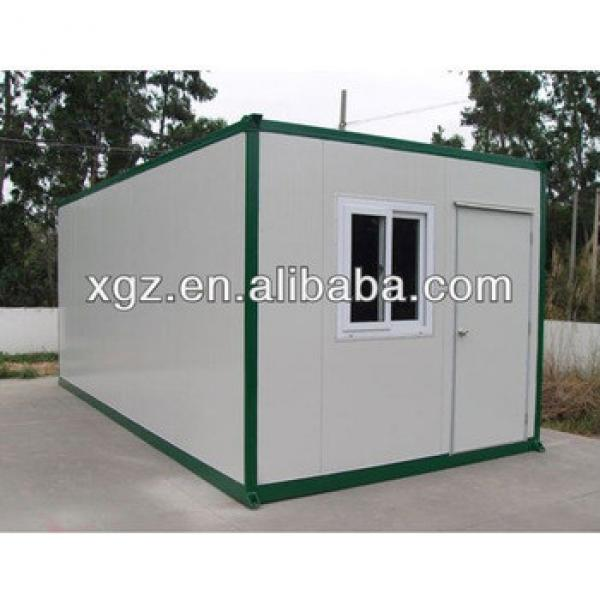 10 feet simple pre-made container house #1 image