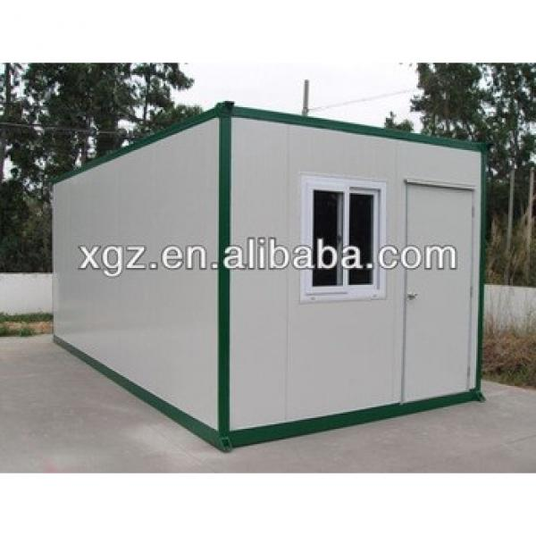 Low cost flat packed 20 feet container house for storage #1 image