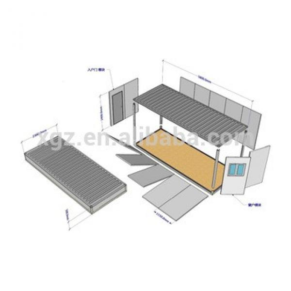 modular container house for shelter #1 image