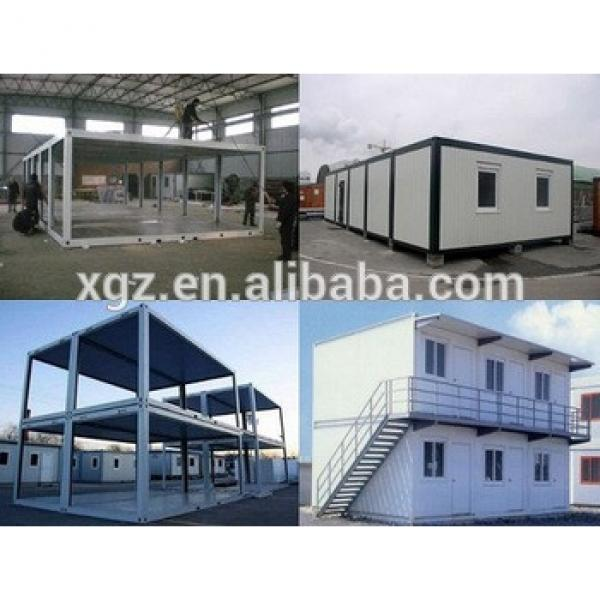 Stacked steel structure container house #1 image