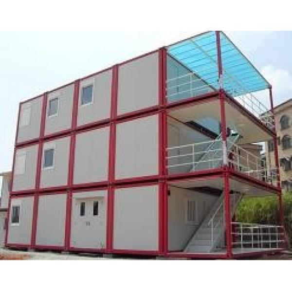 20ft flat pack container hotels with durable #1 image