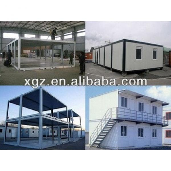 Hot sale 20feet folding sandwich panel container house #1 image