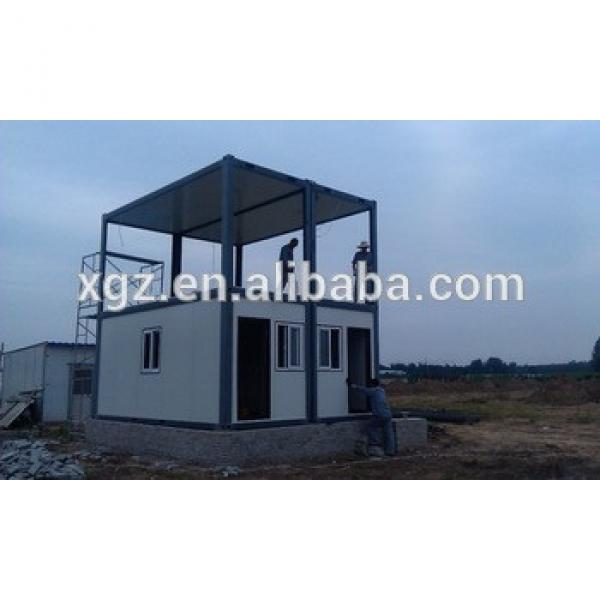 two-storey steel structure container house #1 image