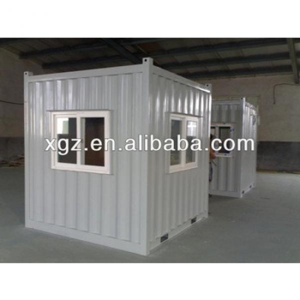 ISO 9001-2000 10 feet folding sandwich panel container house #1 image