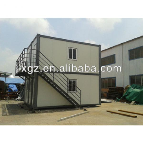 two-storey pre-engineered steel structure container house #1 image