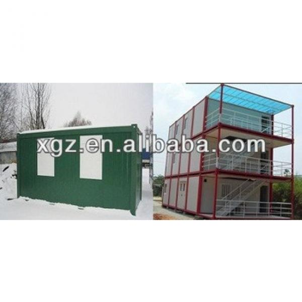 10 feet folding sandwich panel container home #1 image