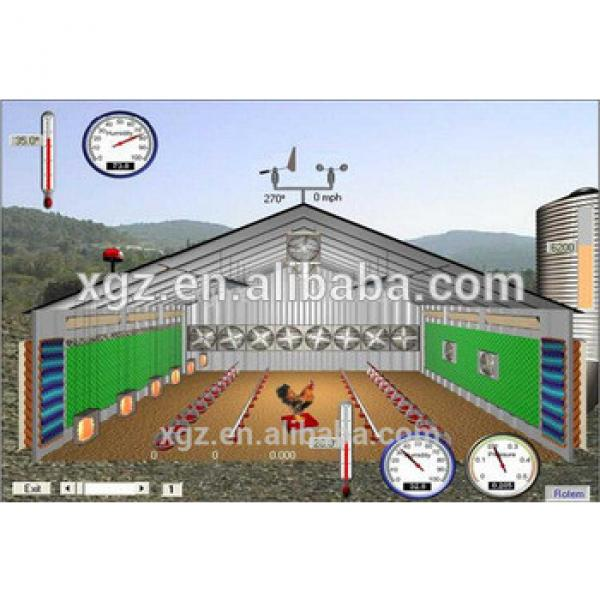 chicken egg and broiler house poultry farm design #1 image