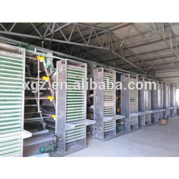 Automated cages for layers and broilers, modern steel poultry farm #1 image