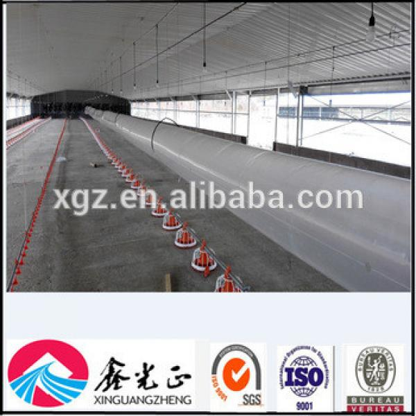 Steel Structure Poultry Chicken Shed With Automatic Equipments #1 image