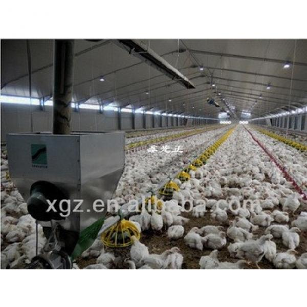 ISO & CE certified steel structure prefab poultry farm construction with automatic equipments #1 image