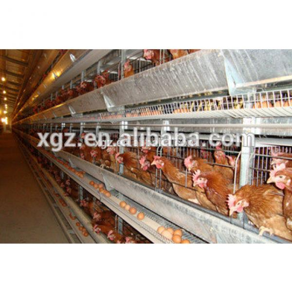 Low cost modern design steel shed poultry farm chicken coop for hens price #1 image