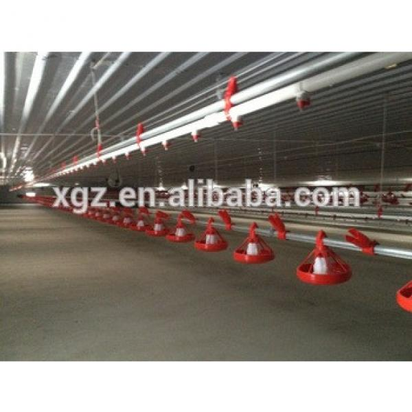 Prefabricated Steel Structure Broiler Chicken Farm from China XGZ #1 image