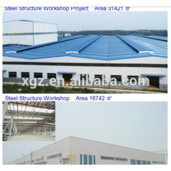 Low Cost And Fast Assembling Prefabricated Steel Structure Workshop/warehouse #1 image