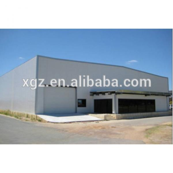 low cost prefabricated steel frame shoes warehouse building #1 image