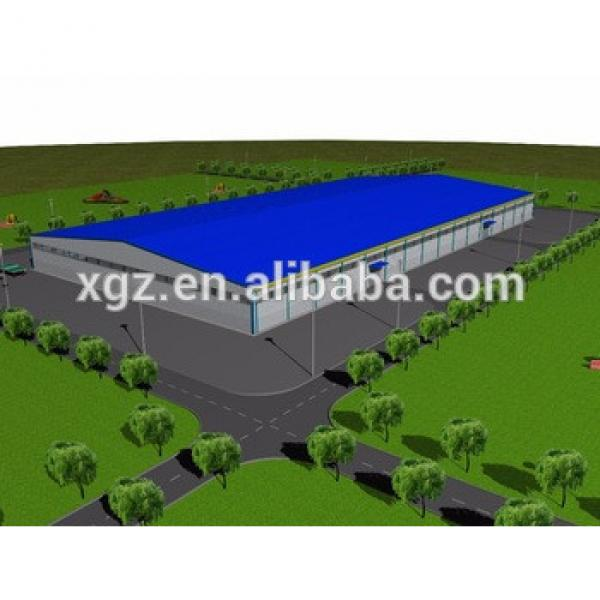 low cost steel frame prefabricated warehouse logistics #1 image