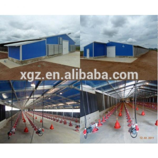 Galvanized steel structure layer shed #1 image